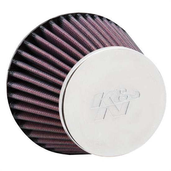 K&N RC-9220 Performance Air Filters, 3.563in Tall, Round Tapered