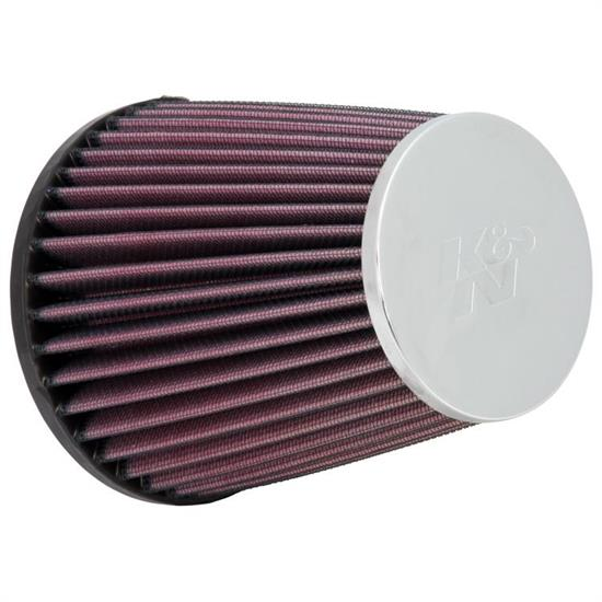 K&N RC-9240 Performance Air Filters, 5.438in Tall, Round Tapered