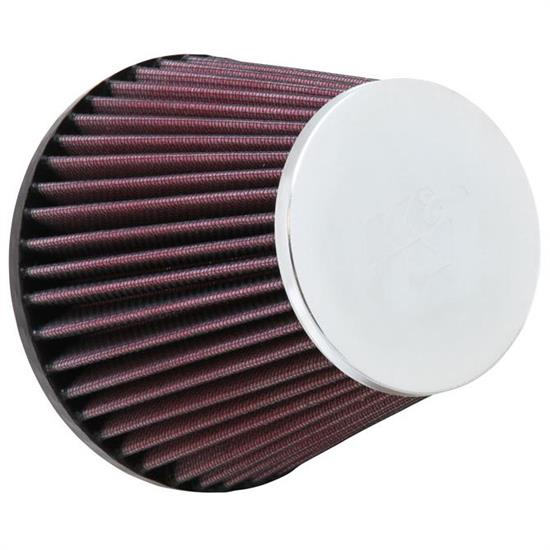 K&N RC-9250 Powersports Air Filter, 4.5in Tall, Round Tapered