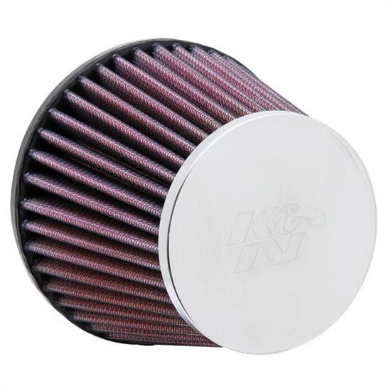K&N RC-9270 Performance Air Filters, 3.938in Tall, Round Tapered
