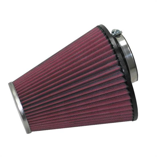 K&N RC-9300 Performance Air Filters, 7.063in Tall, Round Tapered