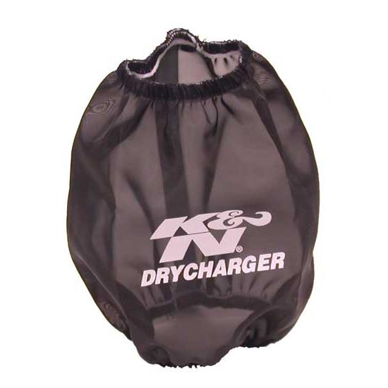 K&N RC-9310DK DryCharger Air Filter Wrap, 5.875in Tall, Black