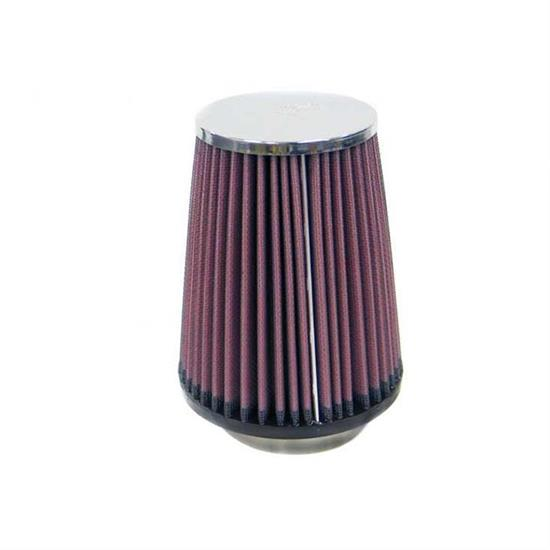 K&N RC-9310 Performance Air Filters, 5.875in Tall, Round Tapered
