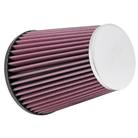K&N RC-9320 Performance Air Filters, 6in Tall, Round Tapered