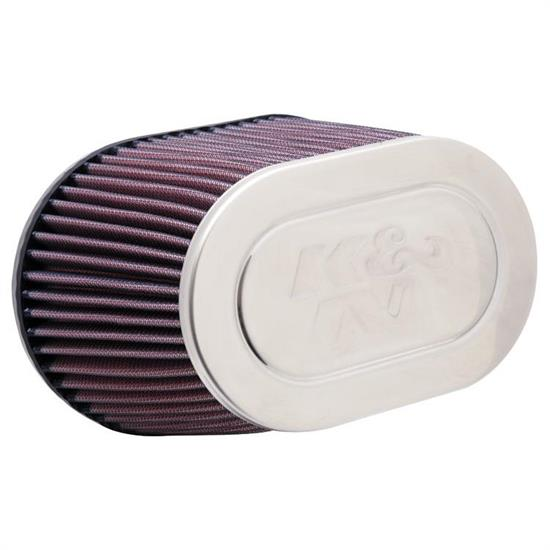 K&N RC-9330 Performance Air Filters, 5.313in Tall, Oval Straight