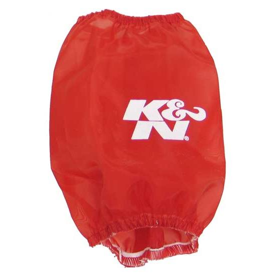 K&N RC-9350DR DryCharger Air Filter Wrap, 4.875in Tall, Red