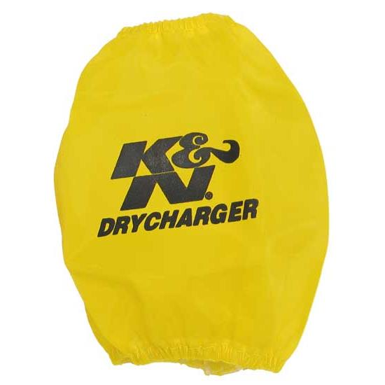 K&N RC-9350DY DryCharger Air Filter Wrap, 4.875in Tall, Yellow