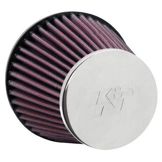K&N RC-9370 Powersports Air Filter, 4.438in Tall, Round Tapered