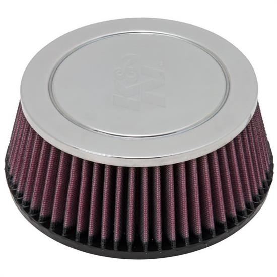 K&N RC-9500 Performance Air Filters, 2.75in Tall, Round Tapered