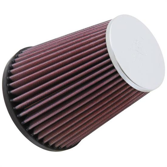 K&N RC-9510 Powersports Air Filter, 5.938in Tall, Round Tapered