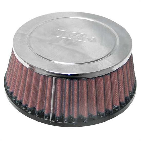 K&N RC-9520 Performance Air Filters, 2.625in Tall, Round Tapered