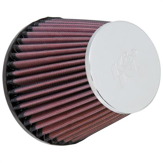 K&N RC-9580 Performance Air Filters, 4.5in Tall, Round Tapered