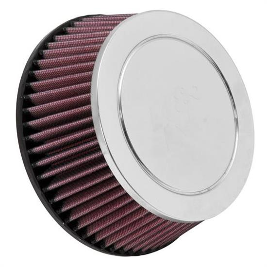 K&N RC-9600 Performance Air Filters, 2.781in Tall, Round Tapered