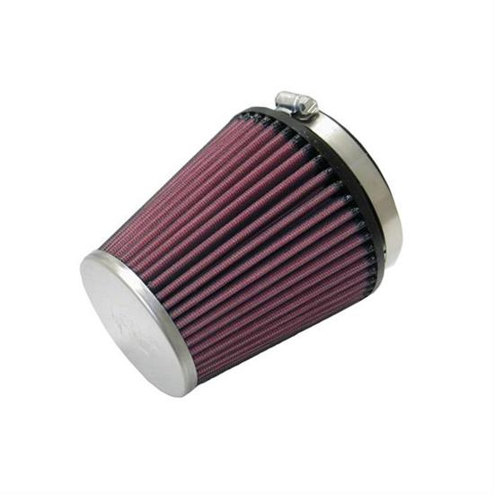 K&N RC-9610 Performance Air Filters, 4.875in Tall, Round Tapered