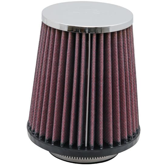 K&N RC-9630 Performance Air Filters, 5in Tall, Round Tapered
