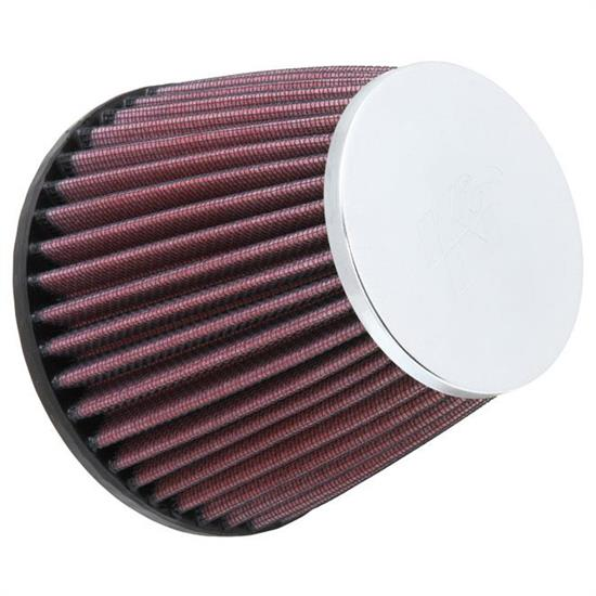 K&N RC-9650 Performance Air Filters, 4.438in Tall, Round Tapered