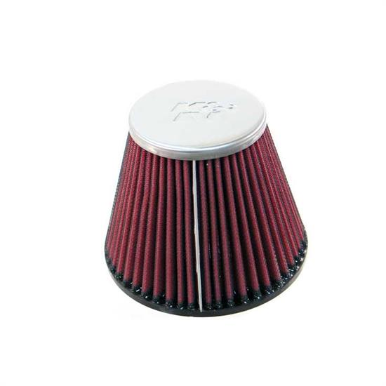 K&N RC-9670 Performance Air Filters, 4.531in Tall, Round Tapered