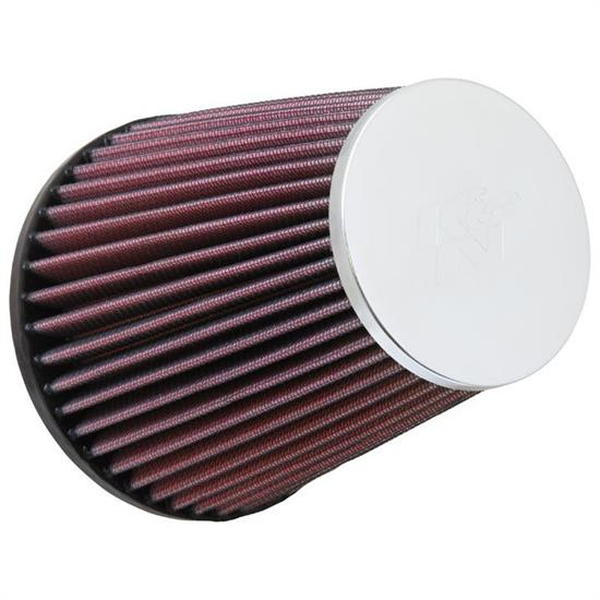 K&N RC-9680 Performance Air Filters, 6in Tall, Round Tapered