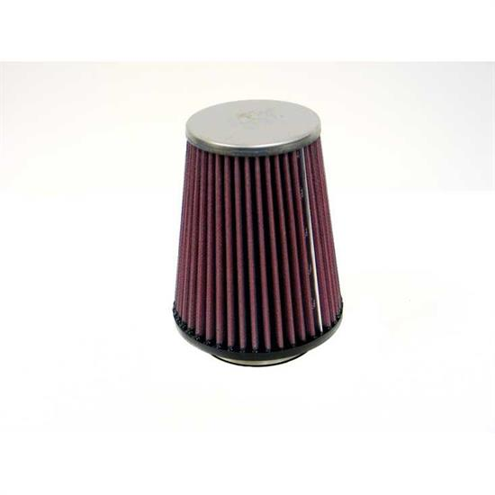 K&N RC-9710 Performance Air Filters, 6.656in Tall, Tapered Conical