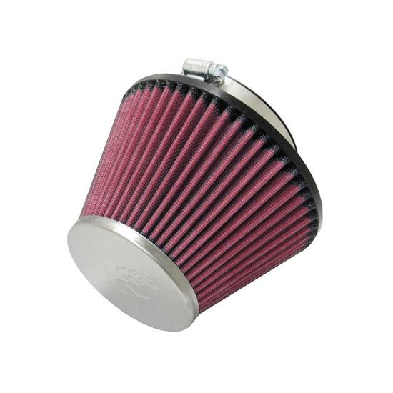 K&N RC-9730 Performance Air Filters, 4.563in Tall, Round Tapered