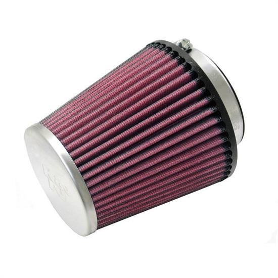 K&N RC-9800 Performance Air Filters, 4.875in Tall, Round Tapered