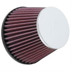 K&N RC-9820 Performance Air Filters, 3.938in Tall, Round Tapered
