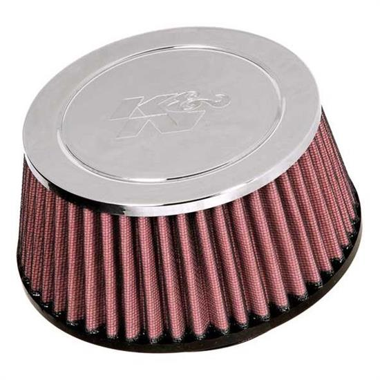 K&N RC-9860 Performance Air Filters, 3.063in Tall, Round Tapered