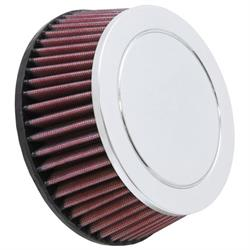 K&N RC-9880 Performance Air Filters, 2.625in Tall, Round Tapered