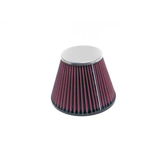 K&N RC-9940 Performance Air Filters, 4.5in Tall, Round Tapered