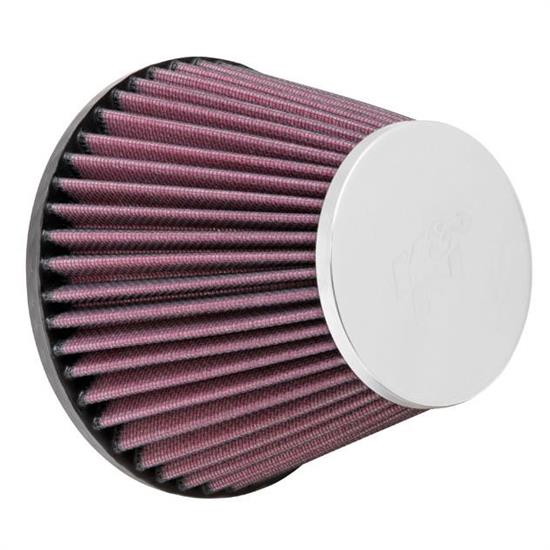 K&N RC-9970 Performance Air Filters, 4.438in Tall, Round Tapered