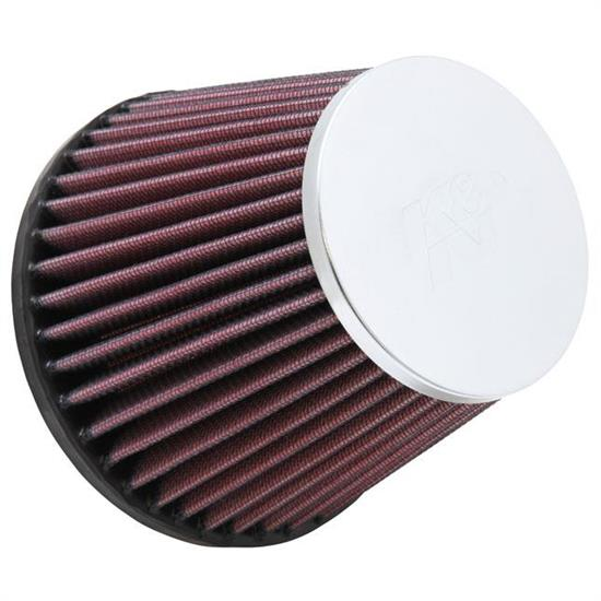 K&N RC-9980 Performance Air Filters, 4.375in Tall, Round Tapered