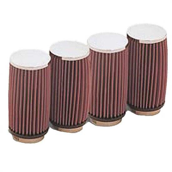 K&N RD-1004 Air Filter, 6in Tall, Round
