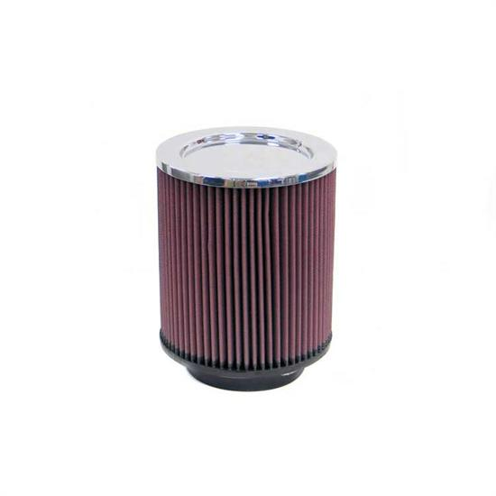 K&N RD-1410 Air Filter, 8in Tall, Round