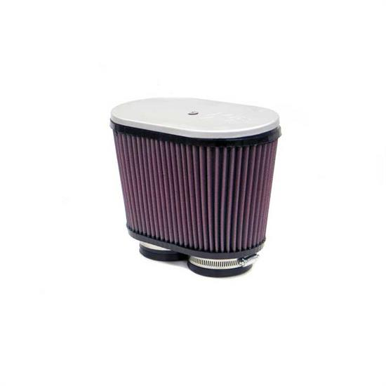K&N RD-3200 Air Filter, 6.25in Tall, Oval