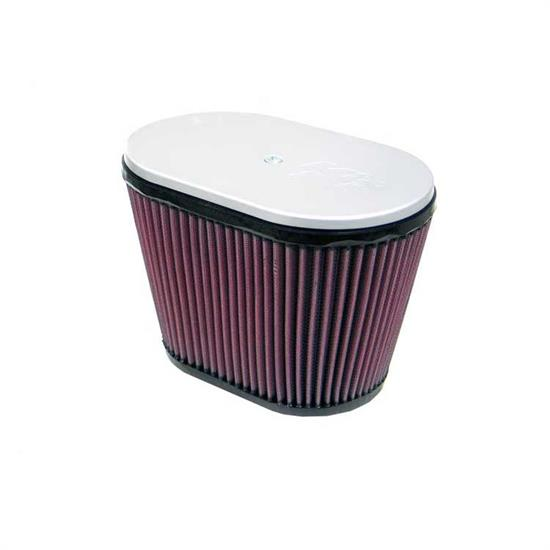 K&N RD-3600 Air Filter, 6.25in Tall, Oval