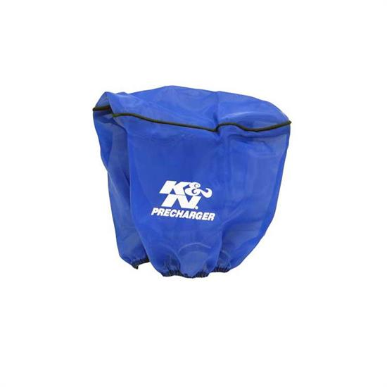 K&N RD-4200PL PreCharger Air Filter Wrap, 6.25in Tall, Blue