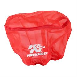 K&N RD-4200PR PreCharger Air Filter Wrap, 6.25in Tall, Red