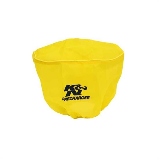 K&N RD-4200PY PreCharger Air Filter Wrap, 6.25in Tall, Yellow