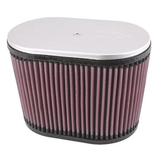 K&N RD-4400 Air Filter, 6.25in Tall, Oval