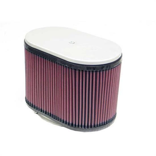 K&N RD-4660 Air Filter, 6.25in Tall, Oval