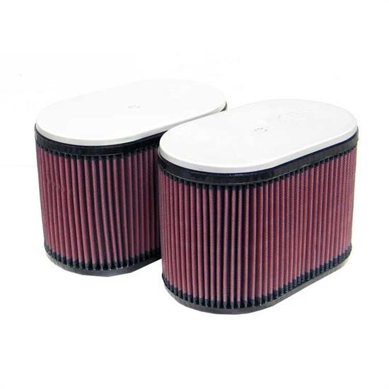 K&N RD-4669 Air Filter, 6.25in Tall, Oval