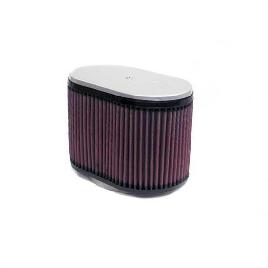 K&N RD-4670 Air Filter, 6.25in Tall, Oval