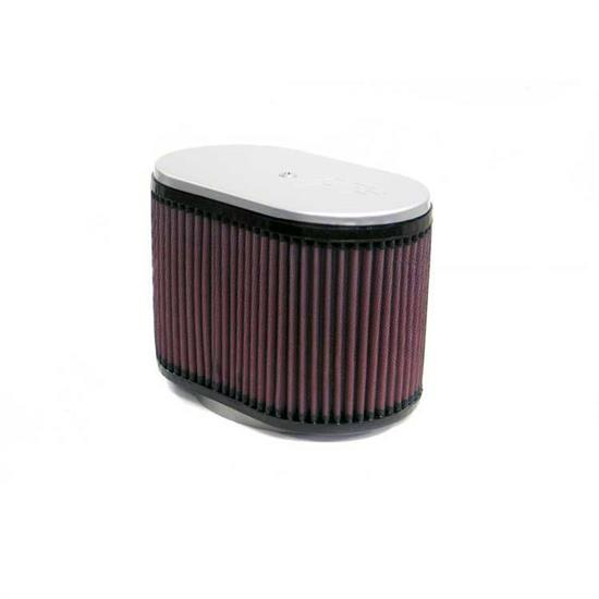 K&N RD-4800 Air Filter, 6.25in Tall, Oval