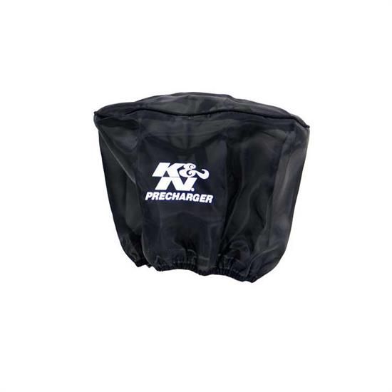 K&N RD-5000PK PreCharger Air Filter Wrap, 6.5in Tall, Black