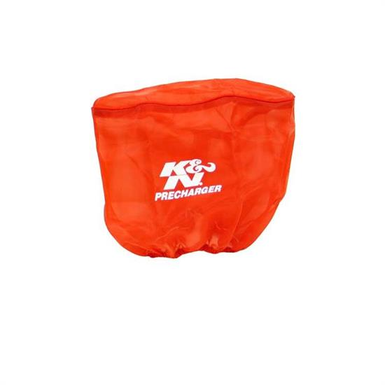 K&N RD-5000PR PreCharger Air Filter Wrap, 6.5in Tall, Red