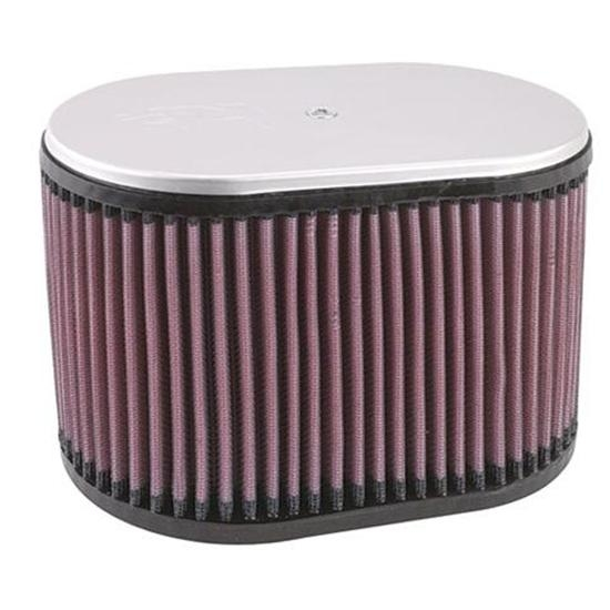 K&N RD-5000 Air Filter, 6.25in Tall, Oval