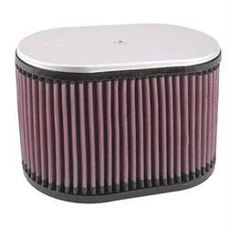 K&N RD-5010 Air Filter, 6.25in Tall, Oval