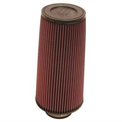 K&N RE-0800 Performance Air Filters, 12in Tall, Round Tapered