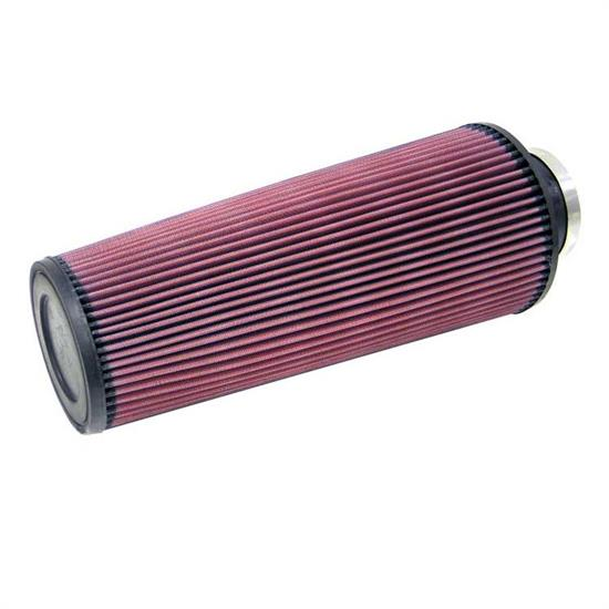 K&N RE-0820 Performance Air Filters, 14in Tall, Round Tapered
