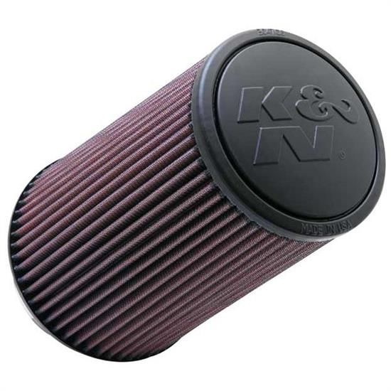 K&N RE-0870 Performance Air Filters, 9in Tall, Round Tapered